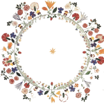 Floral Wreath Shaker